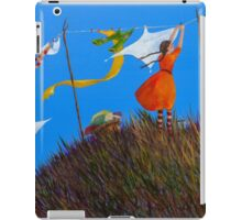 Blowing in the Wind iPad Case/Skin