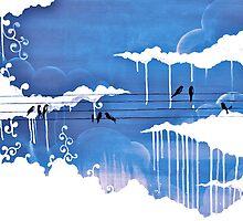 raining clouds by Daisy Watson
