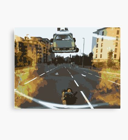 BTTF Back to the Drawing Board Canvas Print