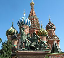 Iconic Domes--St Basil's Cathedral by calvinincalif