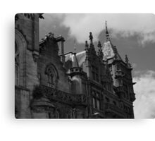 Dundee Architecture Gothic Style Canvas Print