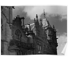 Dundee Architecture Gothic Style Poster