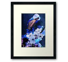 The Blue Woman Framed Print
