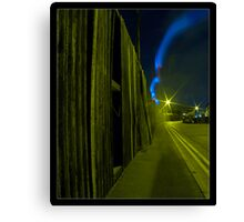 Back Street Blur Canvas Print