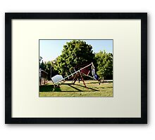 Pouyiok- 4th of July series 3 of 8 Framed Print