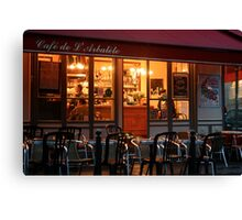 Nighttime at the Café de Arbalète Canvas Print