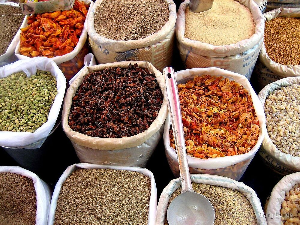 Spice Market by Gary Lande