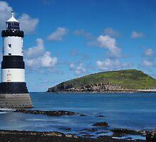 Penmon Lighthouse, Penmon Peninsula, Isle of Anglesey by vkirbys