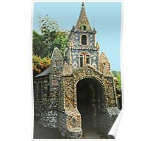 Les Vauxbelets (Vo-bel-eh) Little Chapel, Guernsey Poster