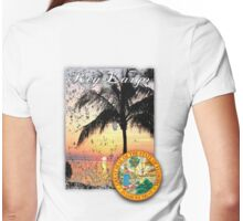 key largo Womens Fitted T-Shirt