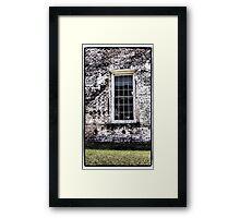 Retro Window Framed Print