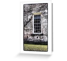 Retro Window Greeting Card