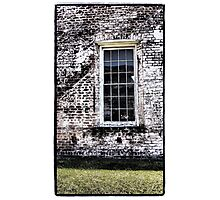 Retro Window Photographic Print