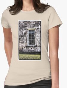 Retro Window Womens Fitted T-Shirt