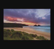 Holywell Bay Sunset One Piece - Short Sleeve