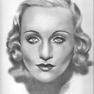 Carole Lombard by Karen Townsend