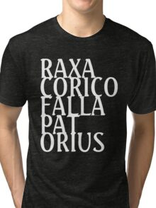 RAXA CORICO FALLA PAT ORIUS (white) Tri-blend T-Shirt