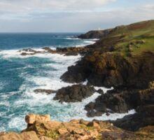 Historical coastline of Cornwall Sticker