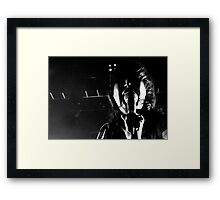 Yeah Yeah Yeahs at Brixton Academy, London Framed Print