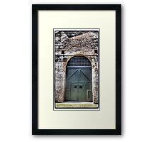 Railway Door II Framed Print
