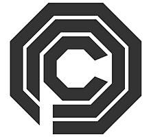 OCP Logo - Robocop Photographic Print