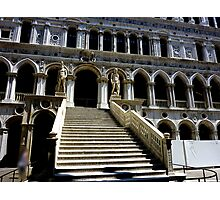 Giants' Staircase in Doge's Palace, Venice Photographic Print