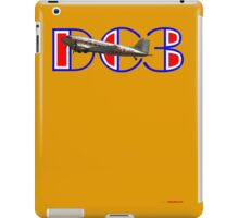 DC3 (75 Years In The Air) T-shirt Design iPad Case/Skin