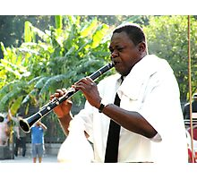 Homage to Satchmo Photographic Print