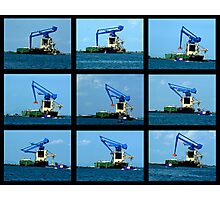 Crane Sequence Venice Laguna Photographic Print