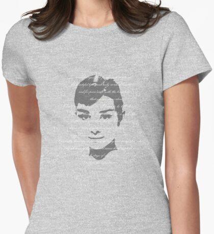 Audrey Hepburn Quoted T-Shirt