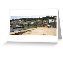 Mousehole Harbour Cornwall England  Greeting Card
