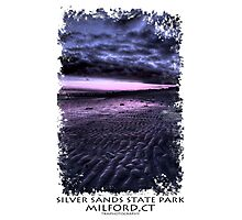 Silver Sands State Park - Sunset Photographic Print