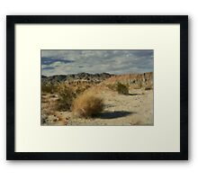 Steadily Framed Print