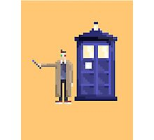 Retro Who Photographic Print