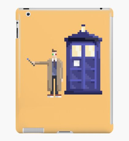 Retro Who iPad Case/Skin