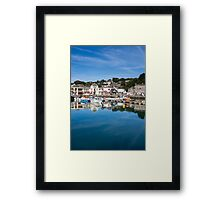 Padstow Harbour Cornwall England UK Framed Print