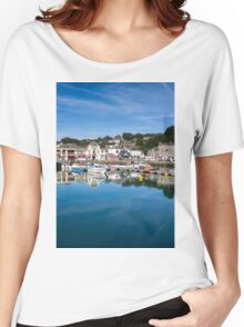 Padstow Harbour Cornwall England UK Women's Relaxed Fit T-Shirt