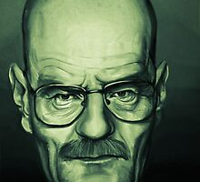 Bryan Cranston Caricature by TomConger
