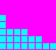 Series:27 episode 2 in magenta and cyan by Justin Clark