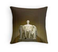 Lincoln Memorial-Washington, DC Throw Pillow