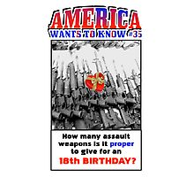 America Wants To Know #35 Photographic Print