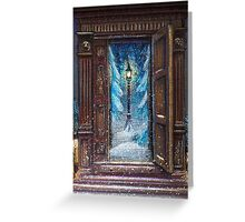 Christmas in Narnia Greeting Card
