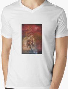 Ghost Ship Mens V-Neck T-Shirt