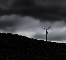 Windmill On The Hill by DeerPhotoArts
