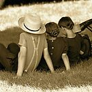 Relaxing in the Shade by Monte Morton