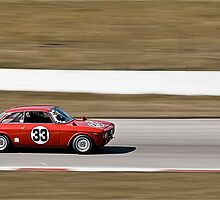 Red Alfa Romeo GTA Mosport Racing by LongbowX