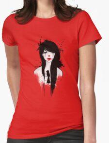 Clown girl II Womens Fitted T-Shirt