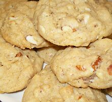 Pumpkin Spice Latte Mix Almond Cookies by BabyBundtCake