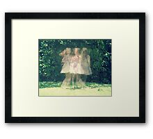 dancing around myself Framed Print