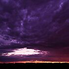 Purple Sky by Linda Sparks
